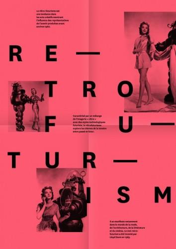 5 tendances de la typographie sur le web - Retrofuturisme