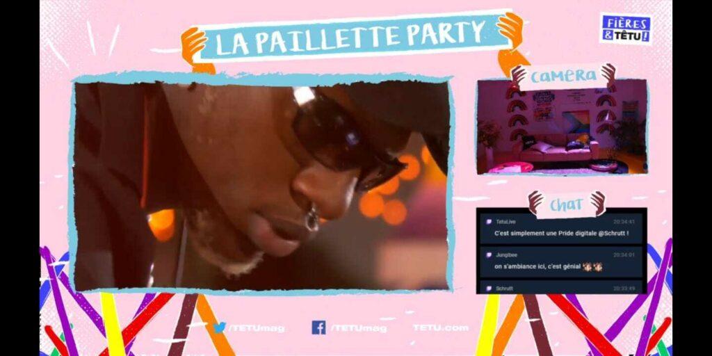 Image Pride sur Switch - La Paillette Party
