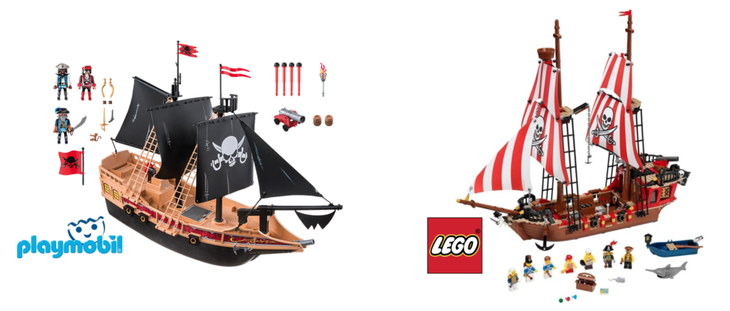 Le dilemme Lego VS Playmobile