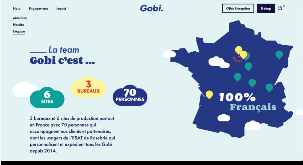 Gobi - La team 100% française